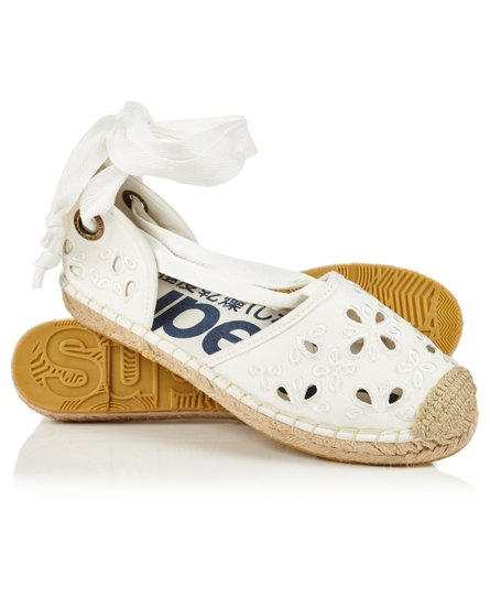 Lola Lace Up Espadrilles