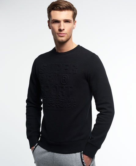 Superdry Felpa girocollo Gym Tech Embossed
