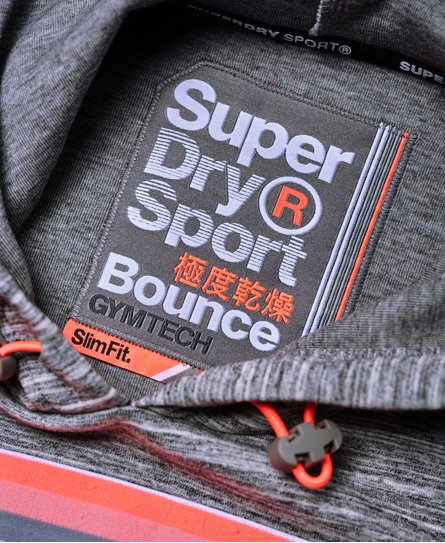 Superdry Gymtech Bounce Crop Hoodie