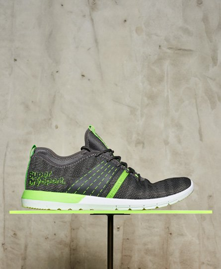 Superdry Chromium Runner Trainers