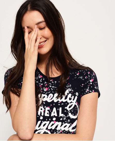 Superdry Real Original Paint T-Shirt