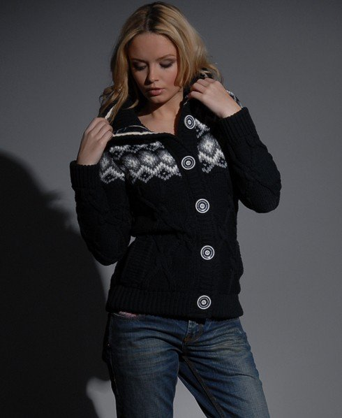 Womens Sorbonne knit in Navy | Superdry