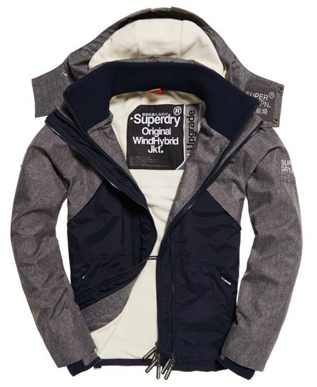 Superdry Hooded SD-Windhybrid Jacket