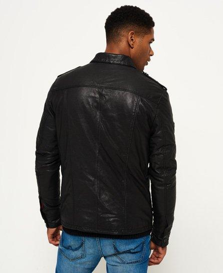 Superdry Hero Benjamin Leather Jacket