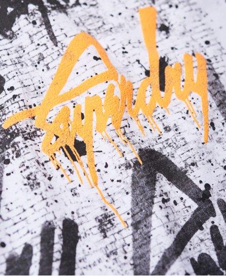 Superdry Camiseta de cuello redondo LA