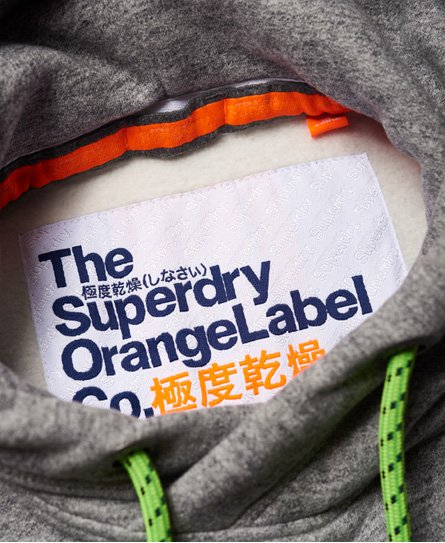 Superdry Orange Label Hyper Pop huvtröja