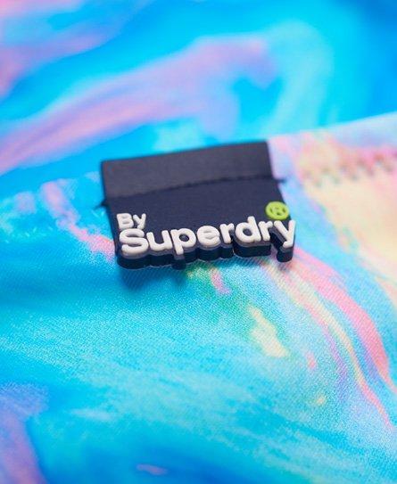 Superdry Haut de bikini triangle irisé