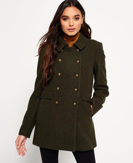 Superdry Military Pea Coat