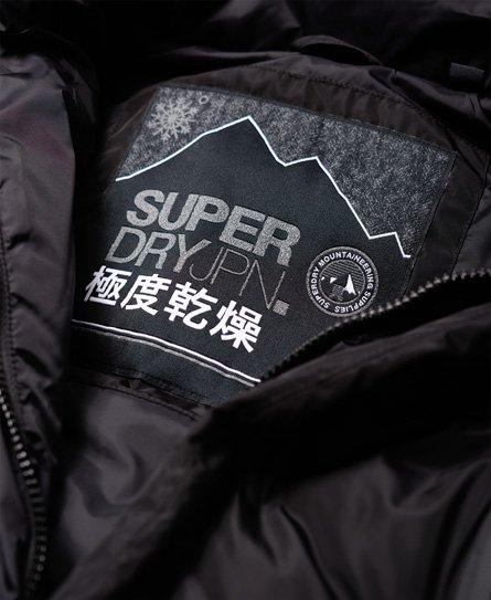 Superdry Veste de motard sans manches Glacier