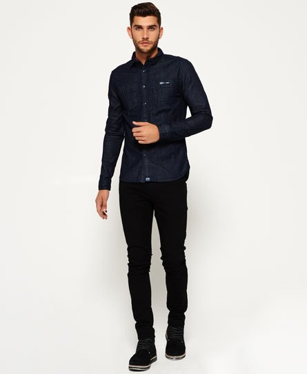 Superdry Rookie Raw Denim Riveter Shirt