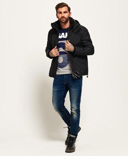 Superdry Arctic SD-Windcheater jakke med farverig lynlås og hætte