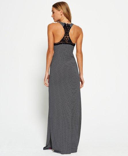 Superdry Maxi-jurk met gehaakt achterpand