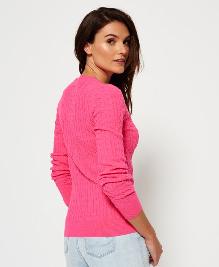 Superdry Summer Luxe Mini Cable Knit Jumper
