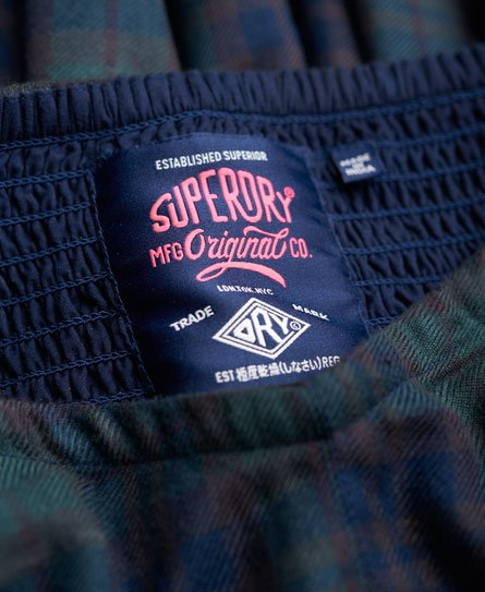 Superdry Savannah Prom Plaid kjole