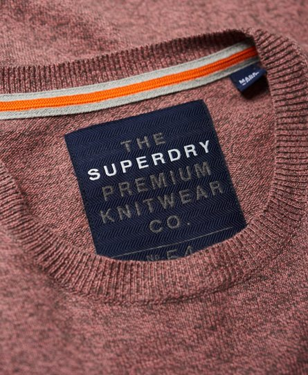 Superdry Pull à col rond Orange Label