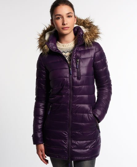Superdry Happy Fuji Demi Jacke Damen Jacken & Mäntel