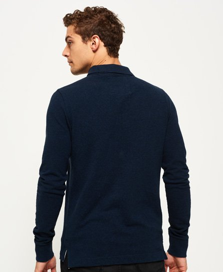 Superdry Classic Long Sleeve Pique Polo Shirt