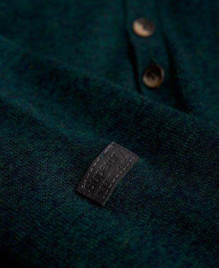 Superdry Orange Label Knit Grandad Jumper