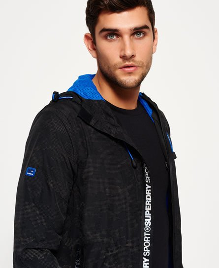 Superdry Sports Active Shell Zip Hooded Jacket