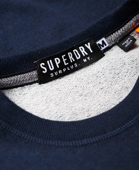 Superdry Surplus Goods Low Rider Crew Jumper