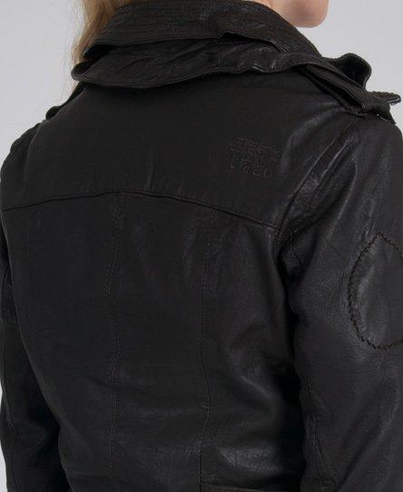 Superdry Ramona Check Leather