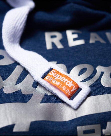 Superdry Vintage Logo satijnen hoodie