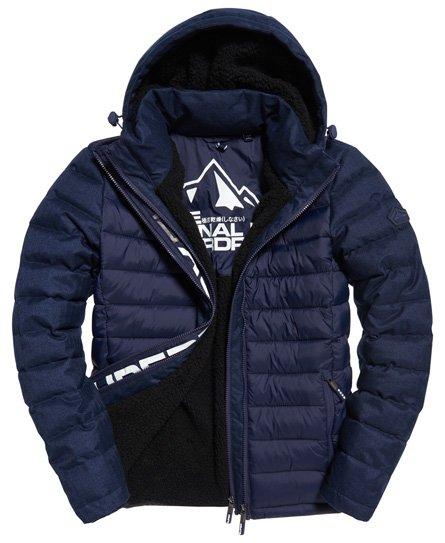 Superdry Fuji Mix Double Zip Hooded Jacket