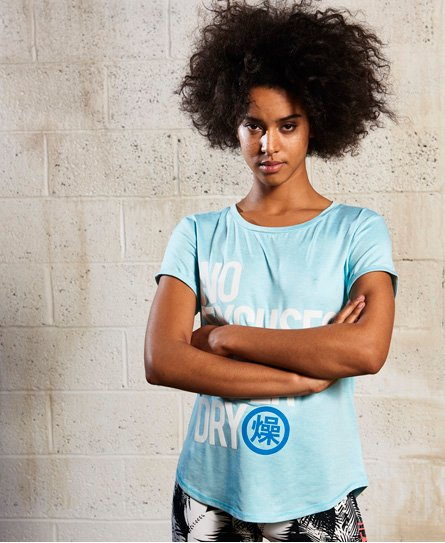 Superdry T-shirt Sport Fitspo
