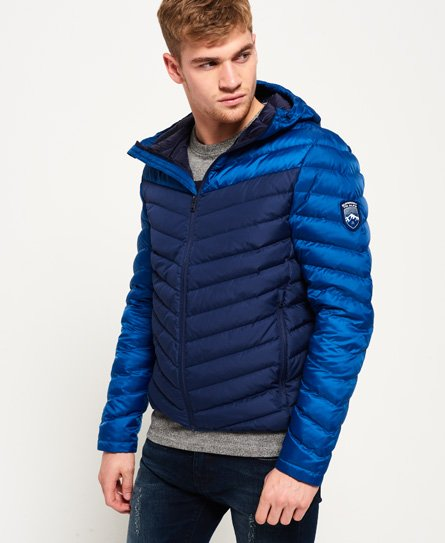 Superdry Doudoune Chevron Colour Block