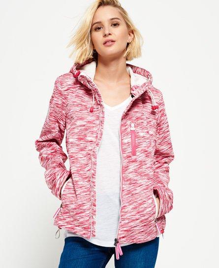 SD-Windtrekker-jakke med hette