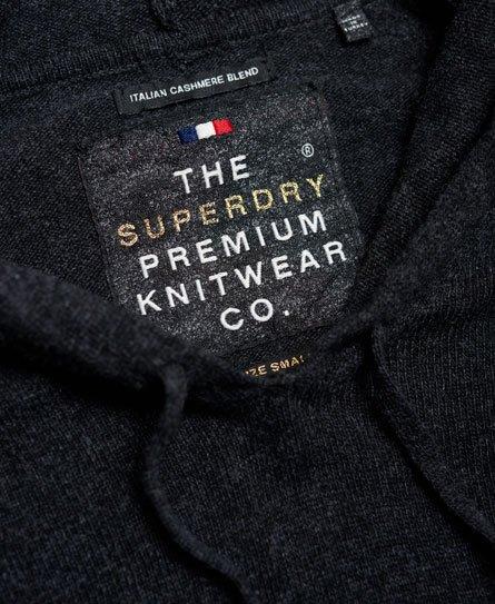 Superdry Luxe Strickkleid mit Kapuze