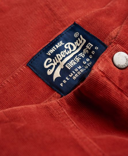 Superdry Jupe Corduroy Button Through
