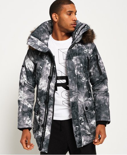 Superdry 1st AD Down Glacier Parka Jacket Men's Jackets