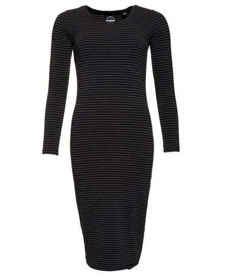 c00cc5872 Superdry Langærmet midi-kjole - Damer Kjoler