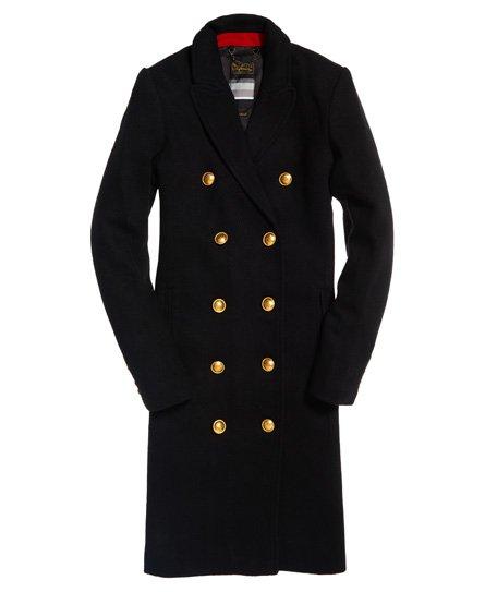 Superdry Langer Priya Military Mantel Damen Jacken & Mäntel