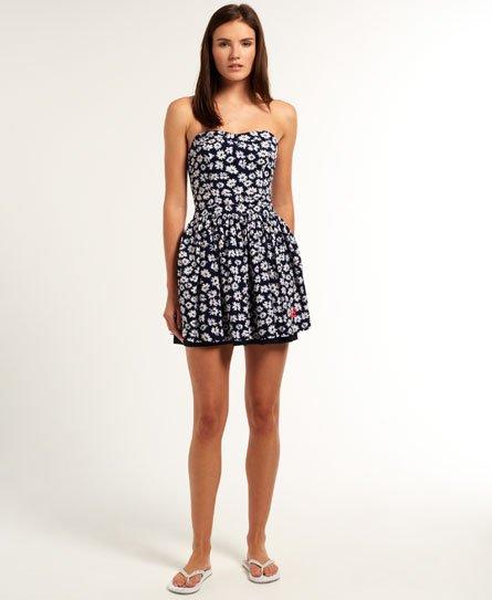 Superdry 50's Meadow kjole med print