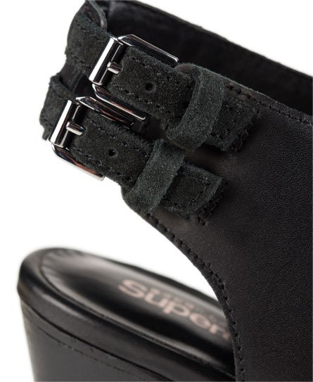 Superdry Chaussures à talon et lanière Wren