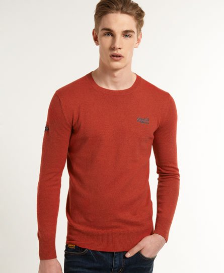 Superdry Orange Label Crew Neck Jumper