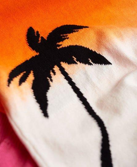Superdry Pull dip & dye à encolure ronde Palm
