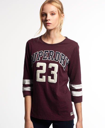 Superdry Campus Appliqué T-shirt
