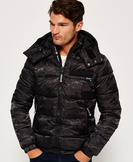 Superdry Tri Racing Camo Puffer Jacket