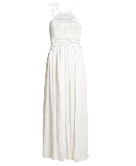 Superdry Isla Crochet Maxi Dress