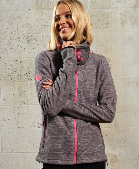 Superdry Crossneck Fleece Jacket
