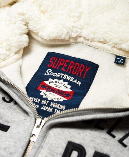 Superdry Sweat à capuche zippé Applique