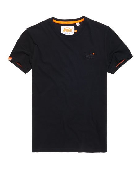 Superdry T-shirt Orange Label Vintage Embroidery