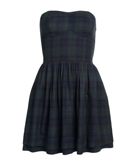 1ad18ac45d03 Womens - Savannah Prom Plaid Dress in Alpine Green Check | Superdry