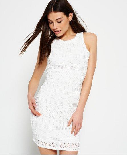 Superdry Crochet Knit Bodycon Dress