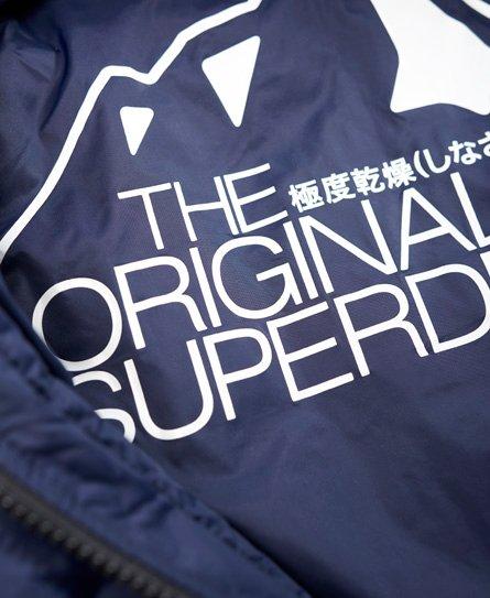 Superdry Cazadora con capucha y guateado cuadrado Fuji