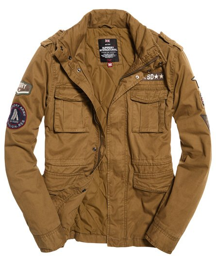 Superdry Rookie Limited Edition militærjakke Herre Jakker