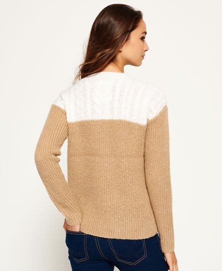 Superdry Pull Brooklyn Colour Block